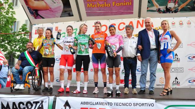 Eugenio Giani Giro della Toscana cronoprologo