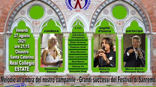 festival di Sanremo evento Real Collegio