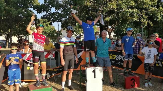 Francesco Moser Mario Cipollini gara Giovanissimi Porcari memorial Giuliano Berrettoni
