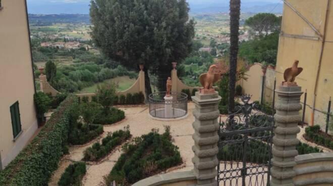 Giardini Migliorati San Miniato piazza XX settembre