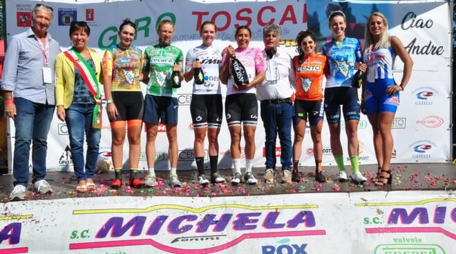 Giro di Toscana seconda tappa Segromigno in Piano
