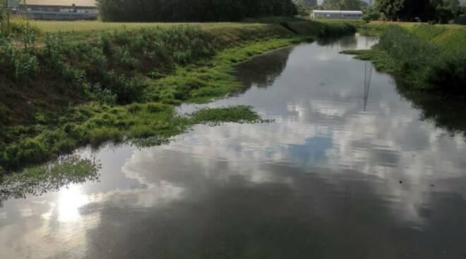 impaludamento canale Ozzeri Ozzori