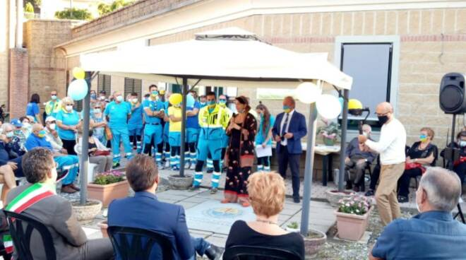 inaugurazione locale misericordia a camporgiano