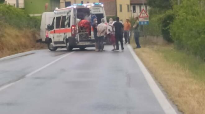 incidente furgone Lappato