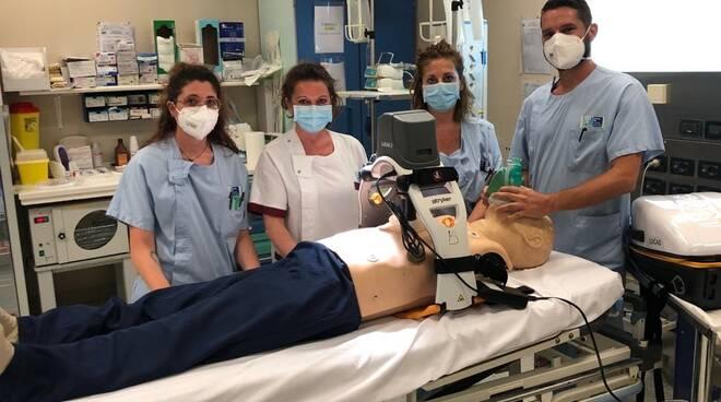 massaggiatore ospedale Versilia robot