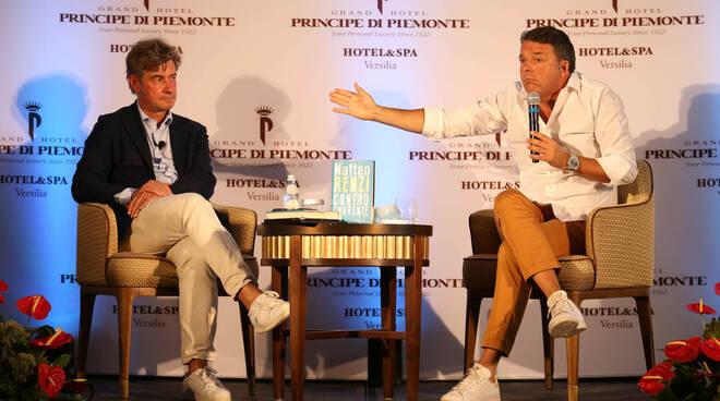 Matteo Renzi Controcorrente Principe di Piemonte Viareggio
