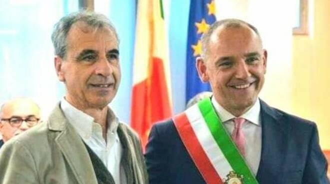 Menesini con Rossano Ercolini