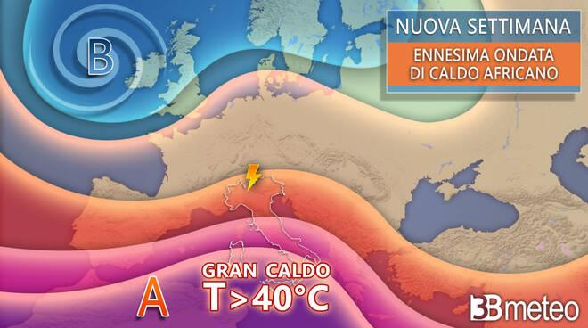 ondata caldo Toscana