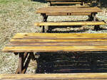 Restauro tavoli e panchine Padule di Fucecchio