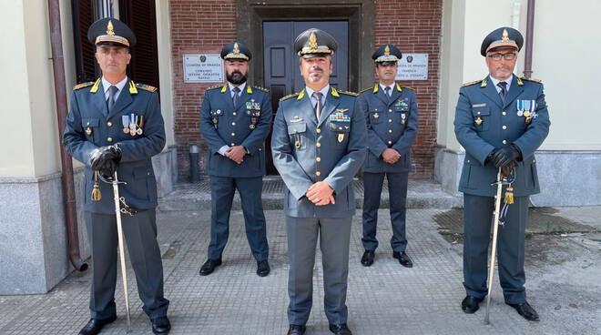 Salvatore Masucci nuovo comandante sezione operativa navale Finanza Porto Santo Stefano
