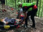 trauma braccio incidente montagna Sast