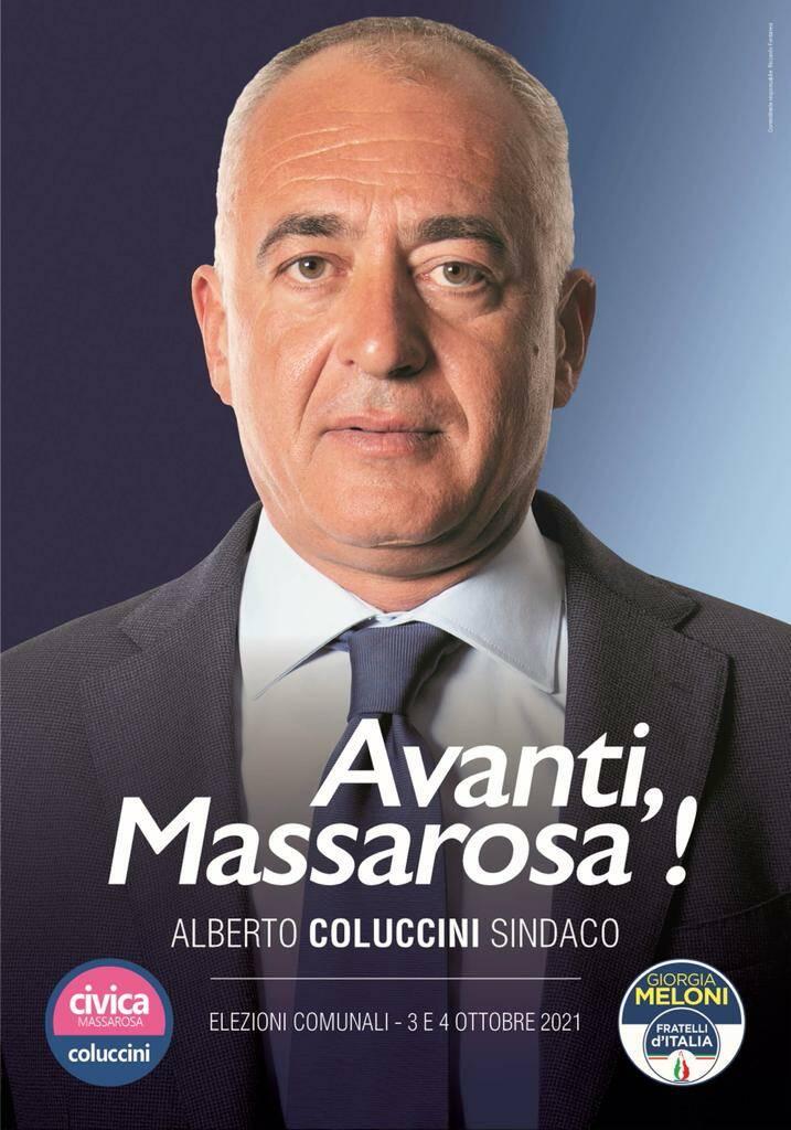 Alberto Coluccini candidato sindaco Massarosa