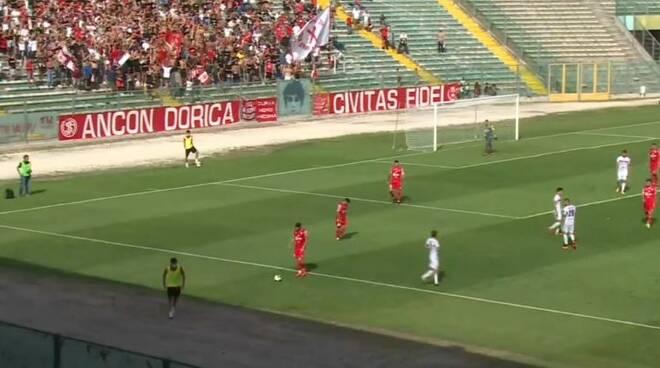 Ancona Matelica - Lucchese diretta eleven sports