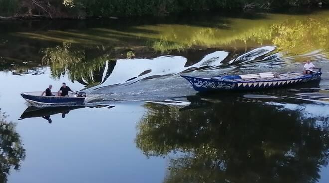 barche slegate Palio di Limite