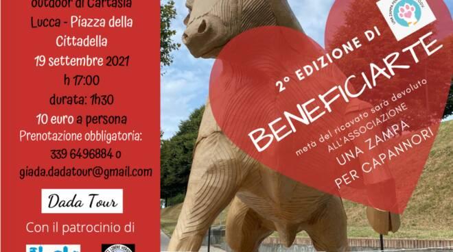 beneficiarte piazza Cittadella Lucca