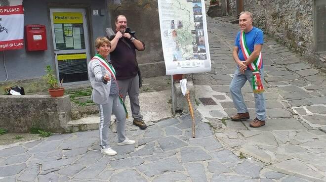 Cammino di Santa Giulia Coreglia Piero Taccini Matilde Gambogi