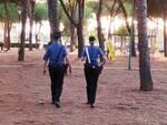 carabinieri al parco giochi di Follonica