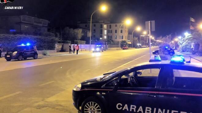 carabinieri controlli notte Viareggio