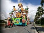 Carnevale universale 2021 uscita dei carri dalla Cittadella