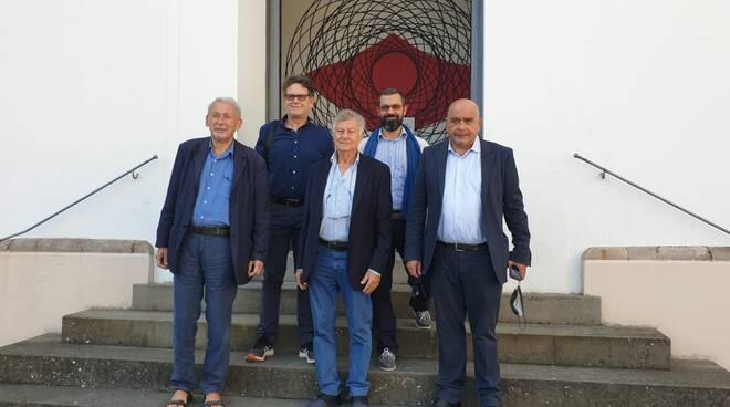 Cluster Music Festival presentazione auditorium Fondazione Banca del Monte di Lucca