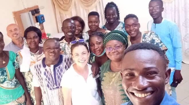 delegazione shalom in Burkina Faso settembre 2021