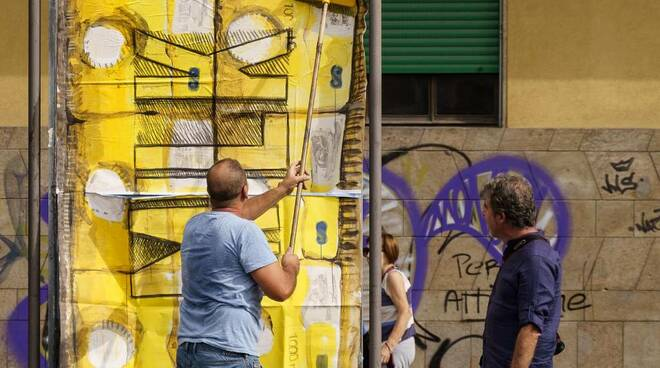 Fabrizio Da Prato dipinti pubblicità