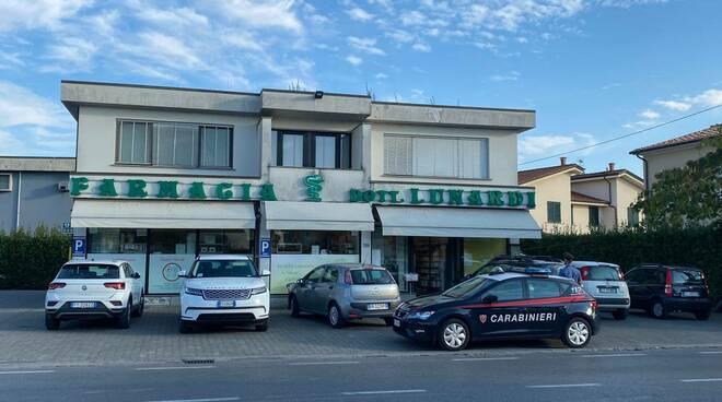 farmacia Giannini farmacia Lunardi rapina
