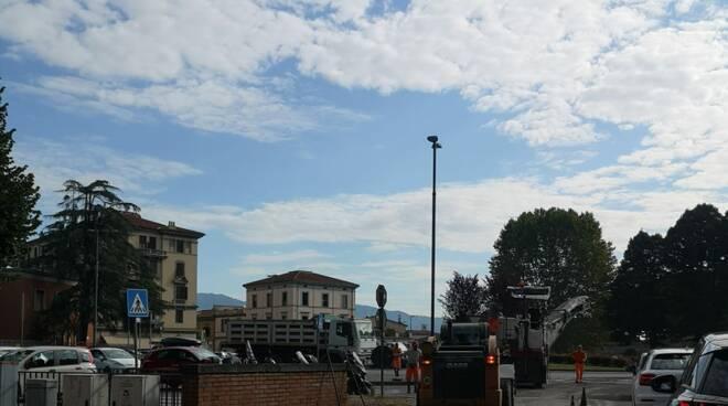 Francesco Raspini asfaltature lavori pubblici Lucca