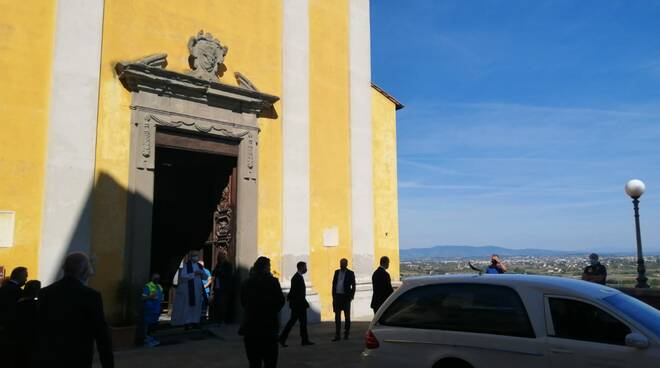 funerali Romano Fogli Santa Maria a Monte