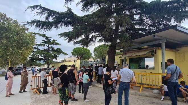 vaccini  a stranieri a Grosseto