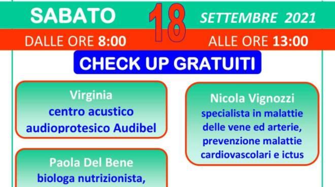 giornata della salute a Santa croce sull'Arno