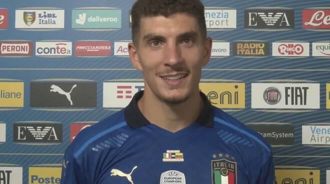 Giovanni Di Lorenzo primo gol in nazionale