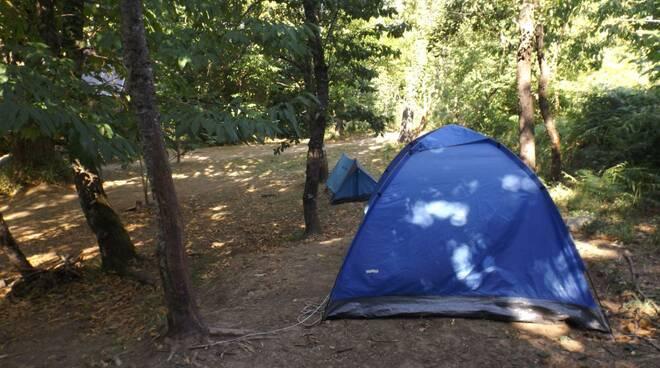 Guardia di Finanza foto nuove blitz camping Garfagnana