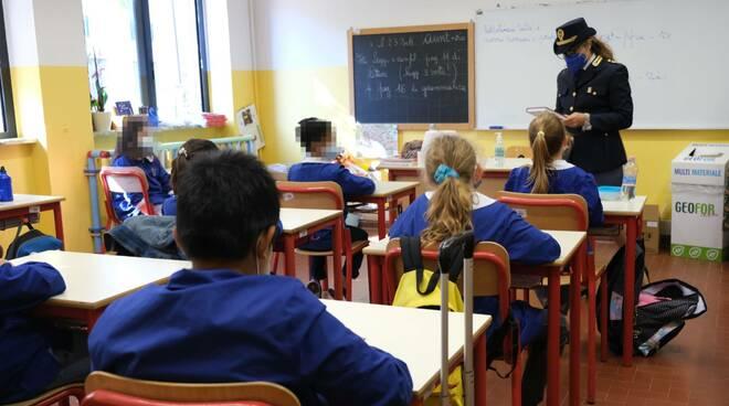 Il mio diario, iniziativa della polizia a scuola 2021