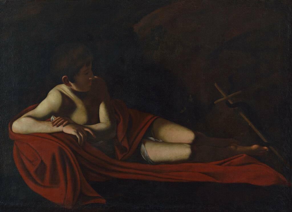 Il San Giovannino giacente del Caravaggio