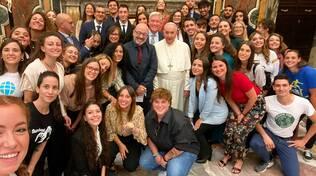 In dono a Papa Francesco l'opera dell'artista fiorentino Neri Frullini