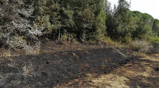 Incendio La Serra e Balconevisi 7 settembre 2021