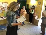 Lara Baldacci sopralluogo scuole Coreglia