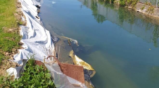 Lavori condotto pubblico San Pietro a Vico infiltrazioni acqua