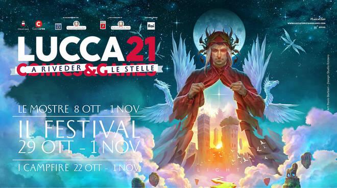 Lucca Comics and Games 2021 manifesto e presentazione