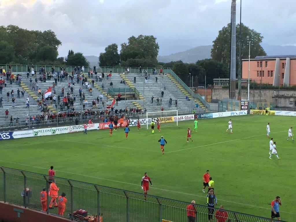 Lucchese Olbia stadio Porta Elisa 2021-2022