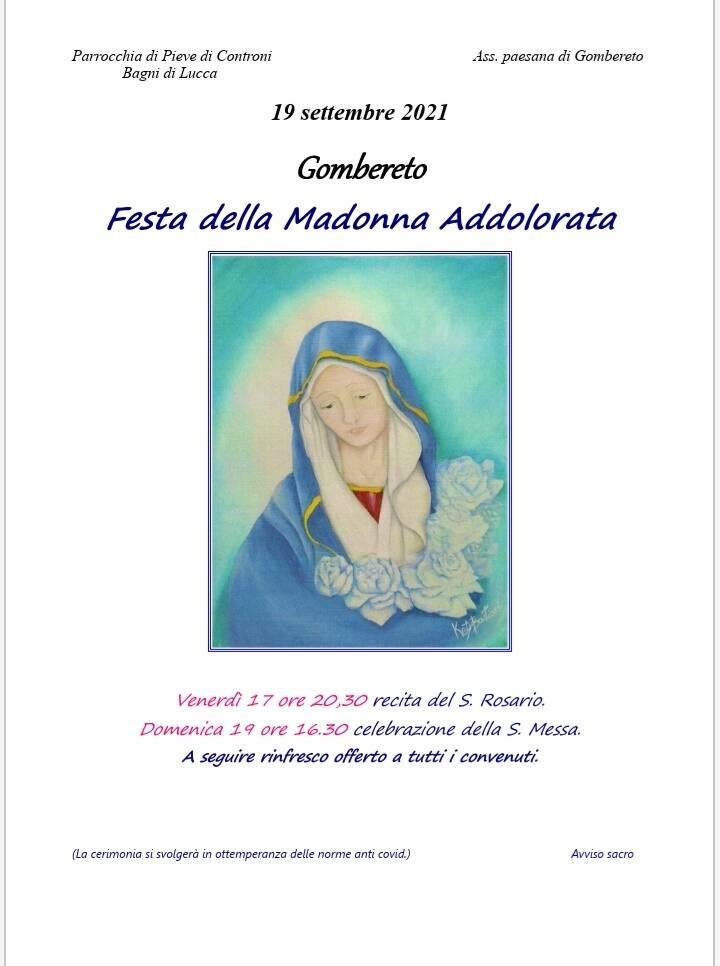 Madonna Addolorata Gombereto