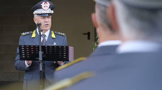 Marco Querqui nuovo comandante guardia di finanza Lucca