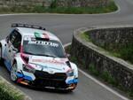 Mm Motorsport Carlo Alberto Senigagliesi in gara a Reggello.