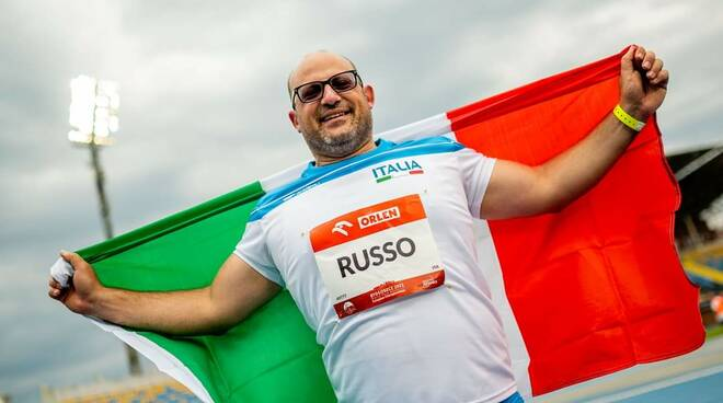Nicky Russo maglia nazionale Italia