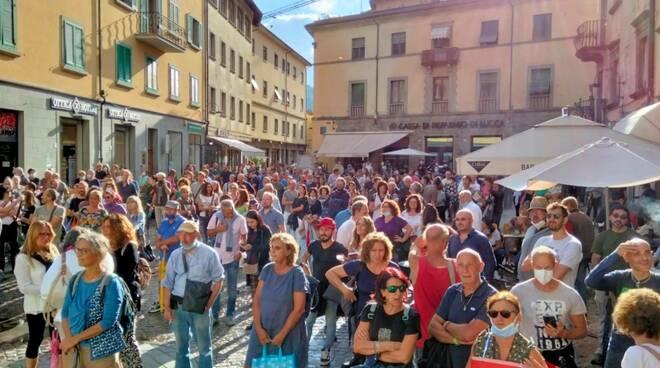 no green pass manifestazione Castelnuovo