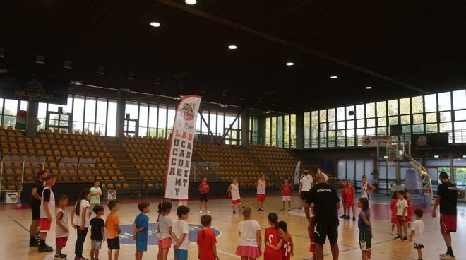 open day Lucca Academy Basket