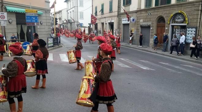 Palio di Fucecchio processione storica