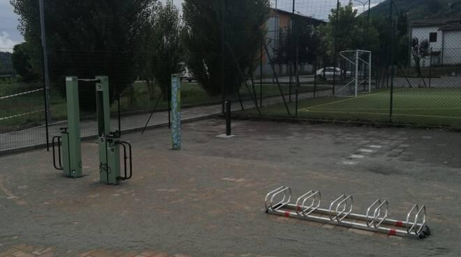 Parcheggio per bici Gallicano