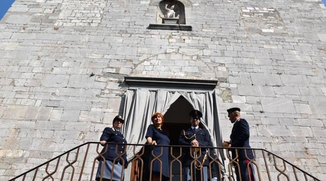 polizia a coreglia per la festa di San Michele